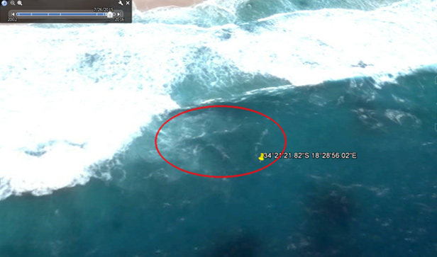 Flight MH370 Google Maps
