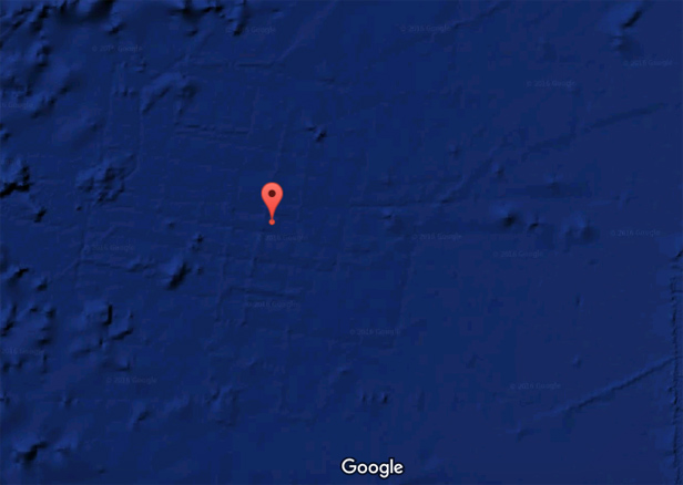 Google Maps Atlantis