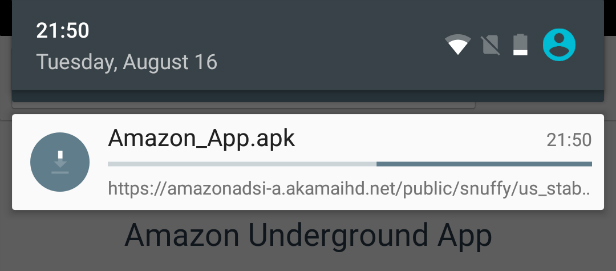 Amazon Underground API