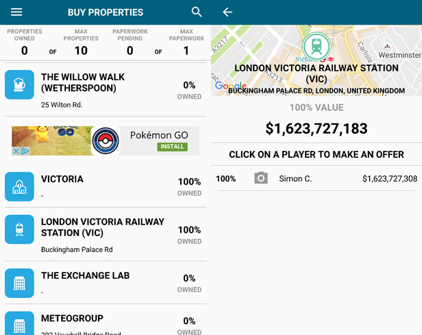 Landlord Real Estate Tycoon app screenshot