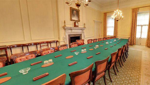 Downing Street Cabinet table