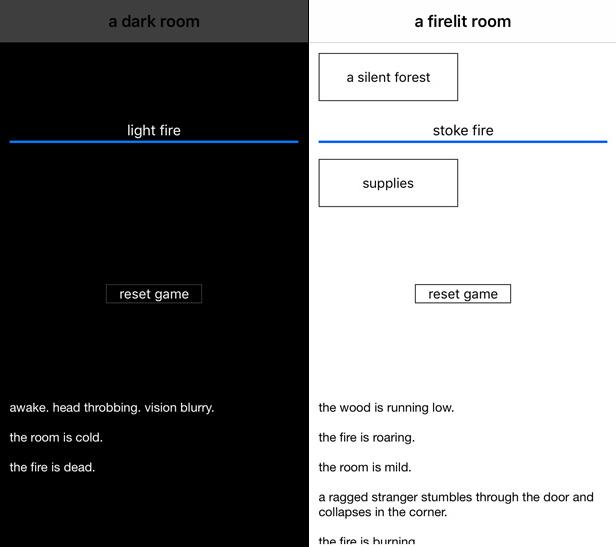 A Dark Room app