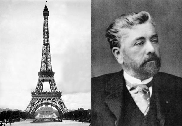 Eiffel Tower and Gustav Eiffel