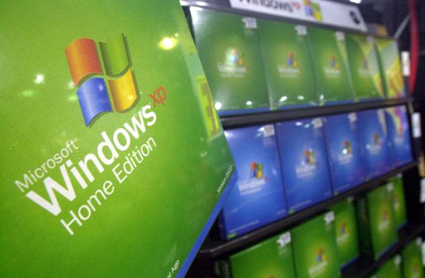 Windows XP boxes
