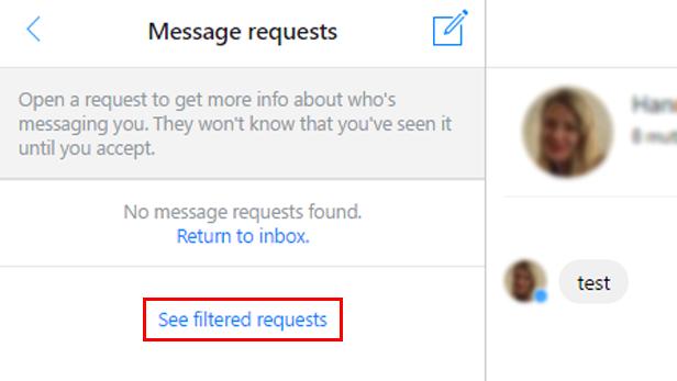 How to find Facebook's hidden inbox