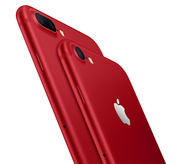 iPhone 7 and iPhone 7 Plus PRODUCT Red