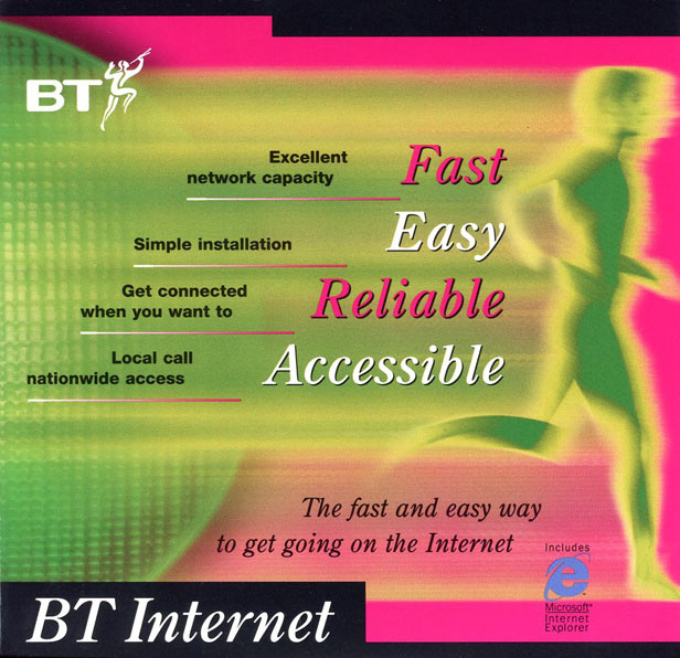 BT Infinity advert
