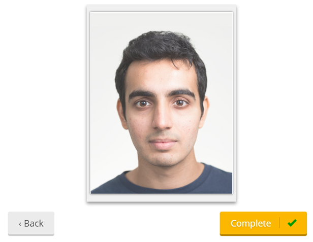How to print your own passport photos at home bt if youre happy with how your photo looks in the preview click the finish button to continue or click back to continue moving it around maxwellsz
