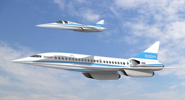 Boom concept plane