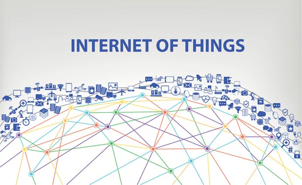 Graphic showing Internet of Things