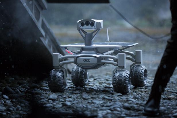 Audi Lunar Quattro Rover in Alien Covenant