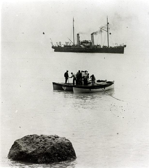 Alert cable ship BT Archives