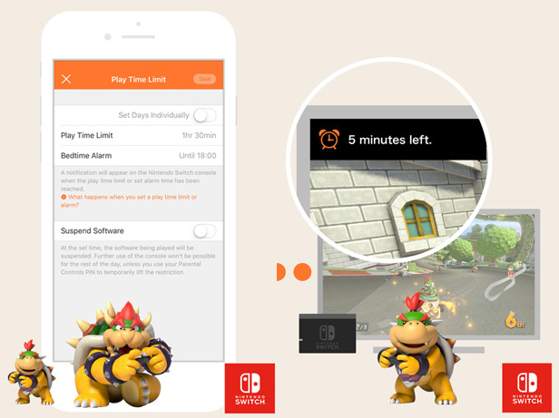 Nintendo Switch Parental Controls app