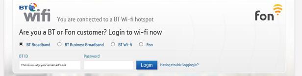 BT Wi-fi screenshot