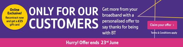 BT Customer deals