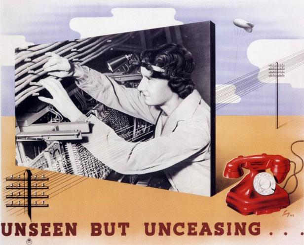 WW2 advert for female engineers