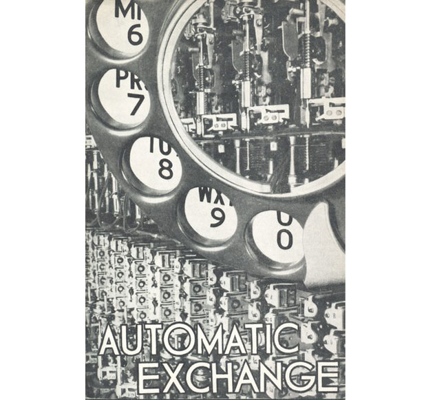 Postcard of Automatic Exchange