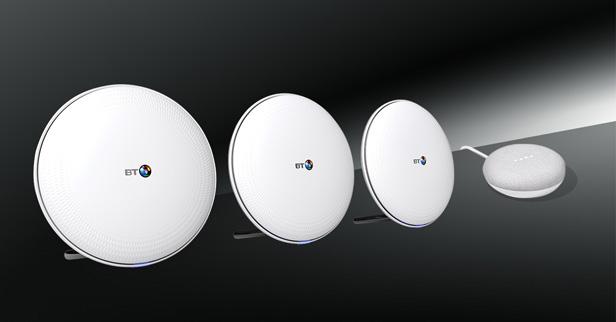 Whole Home Wi-fi and Google Home Mini