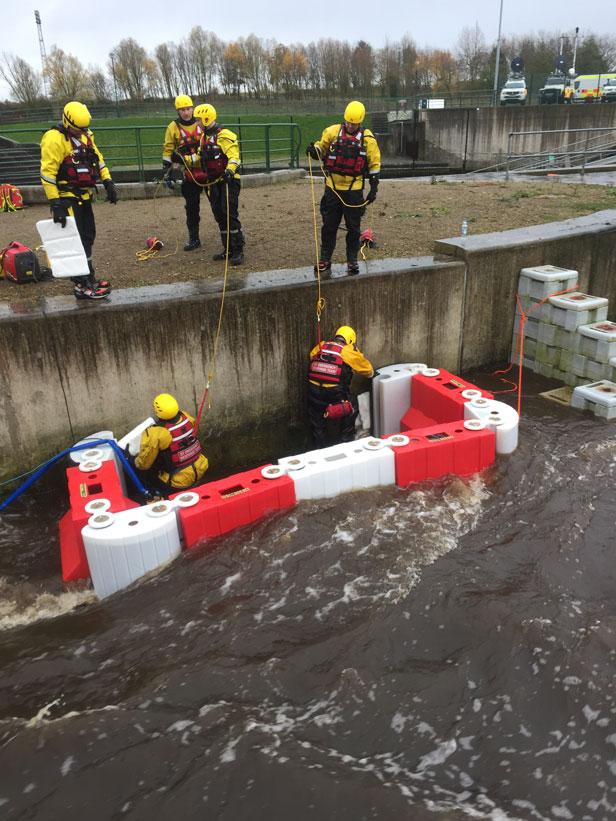 BT Emergency Response Team flood rescue