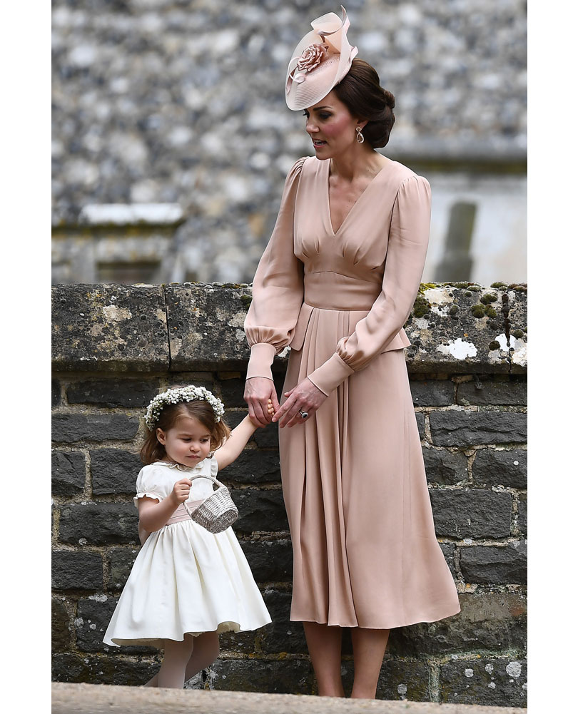 954f6b6bd835 What Kate wore  A blush-pink custom Alexander McQueen dress