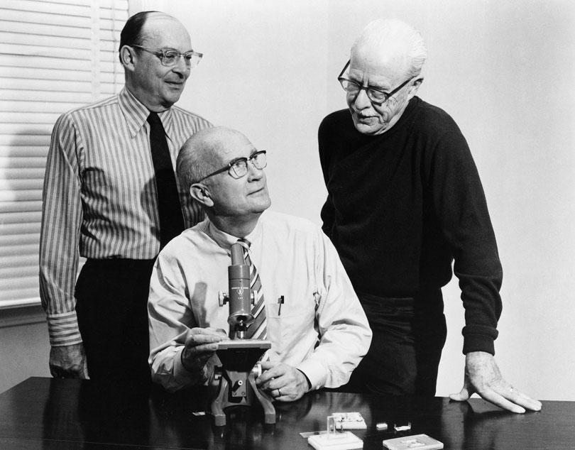 John Bardeen, William Shockley, Walter Brattain