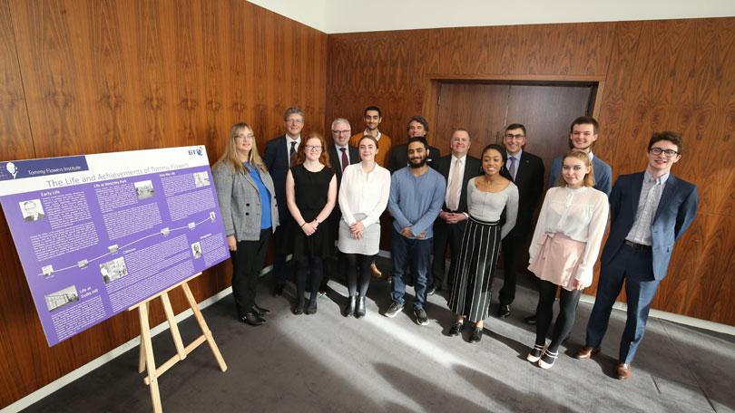 Diamond Jubilee Scholars launch Tommy Flowers room