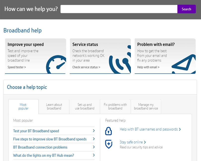 What to do if your broadband stops working | BT