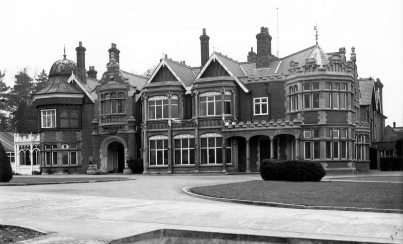 Image result for bletchley park