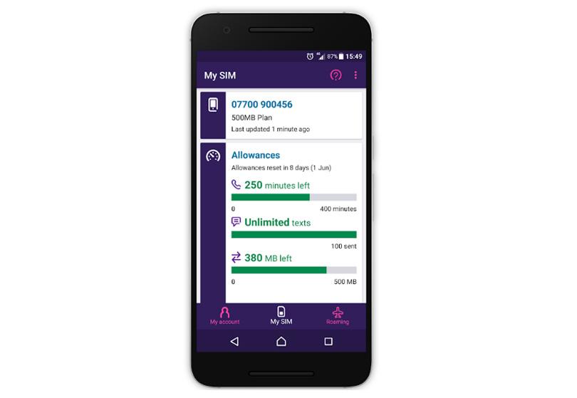 BT Mobile app