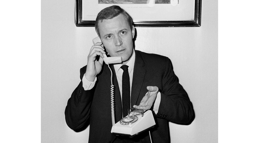Trimphone and postmaster general 1965 BT