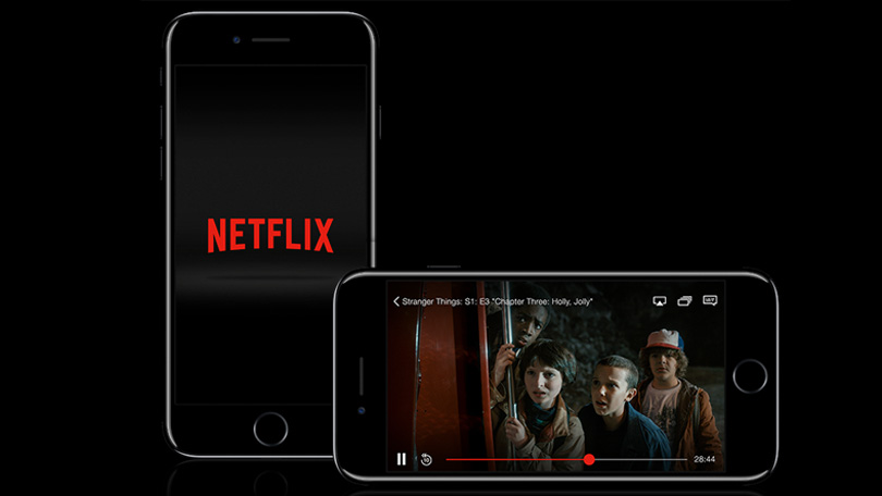 Netflix on tablet and phone