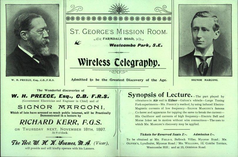 Wireless telegraphy BT Archives