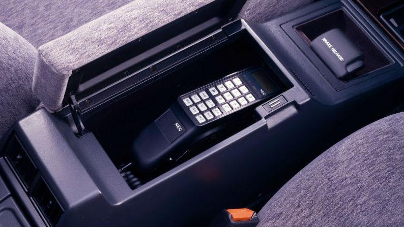 1980s NEC car phone