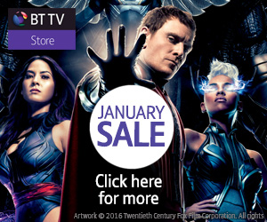 Get great deals in the BT TV Store January Sale