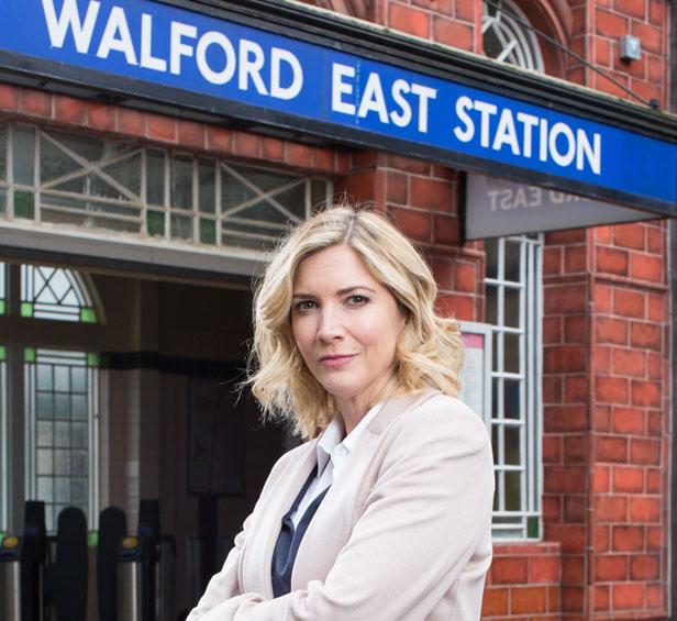 Lisa Faulkner in EastEnders as Fi Browning