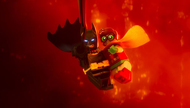 Still from The Lego batman Movie.  Photo credit: Warner Brothers