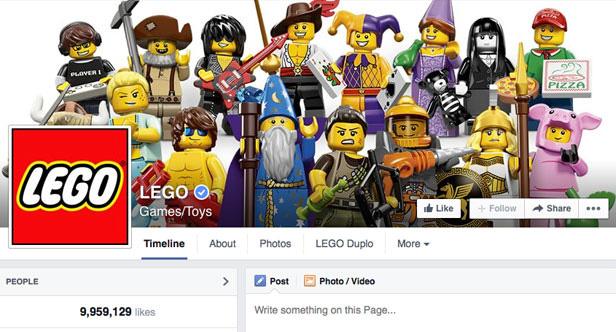 Lego Facebook page