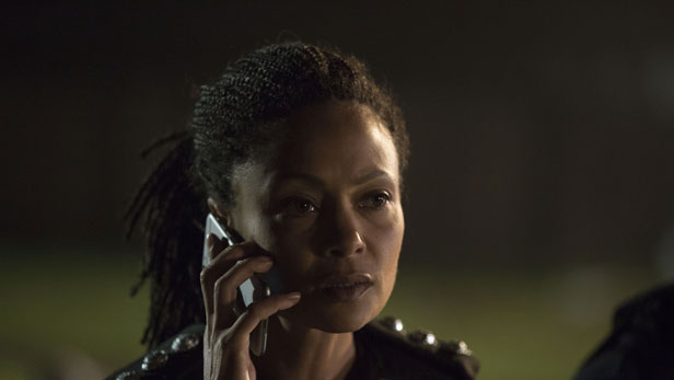 Thandie Newton in Line of Duty series 4 on BBC One