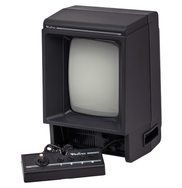 1982: MB Vectrex, Image credit: Wikimedia Commons