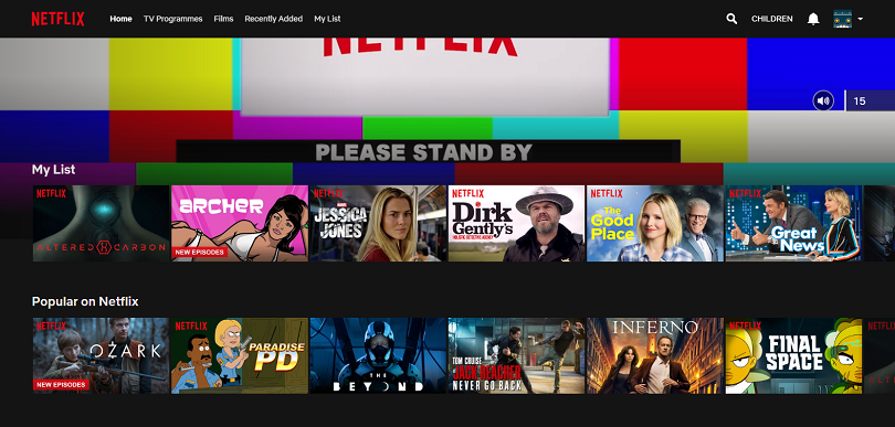 Netflix find content customise profile cast share and - Home shows on netflix ...
