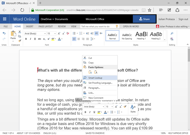 Which version of Microsoft Office do I need? | BT