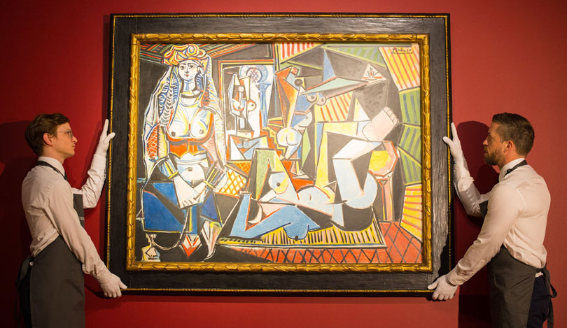 Picasso's 'Women of Algiers (Version O)' which sold at auction on May 11, 2015 for $179.3 million (£115 million).