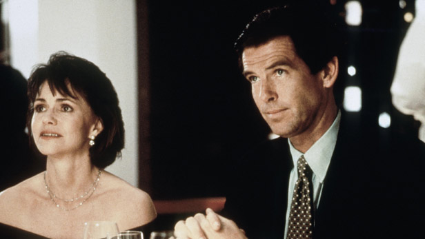 Pierce Brosnan as Stu in Mrs Doubtfire