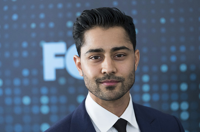 Manish Dayal at a Fox TV event in 2017. Photo credit: Invision/AP/REX/Shutterstock