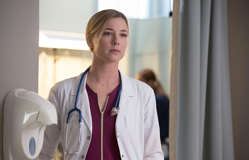 Emily VanCamp as Nurse Nicolette Nevin. Photo credit: Fox TV