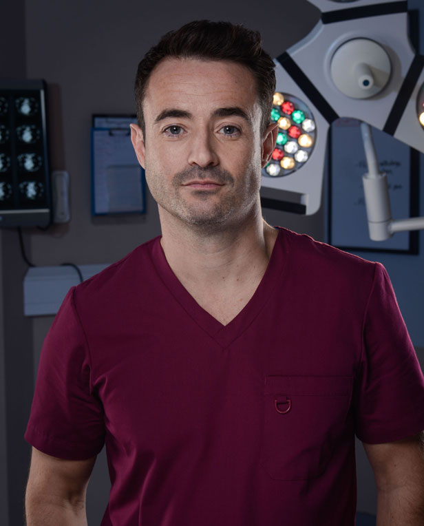 Joe McFadden.  Photo credit: BBC