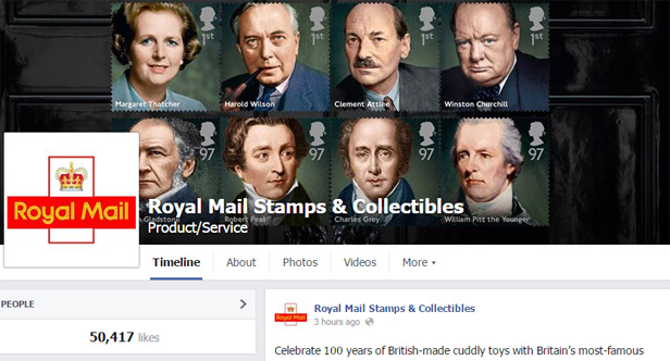 Royal Mail FB page