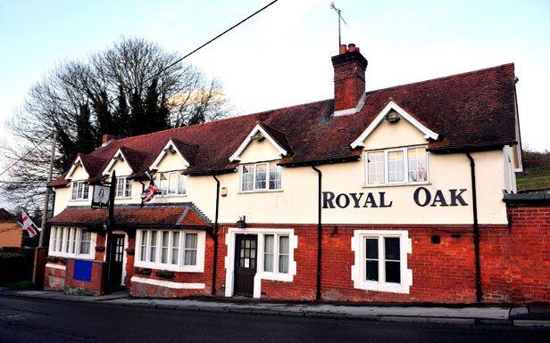 The Royal Oak pub in Shrewton, Wiltshire.