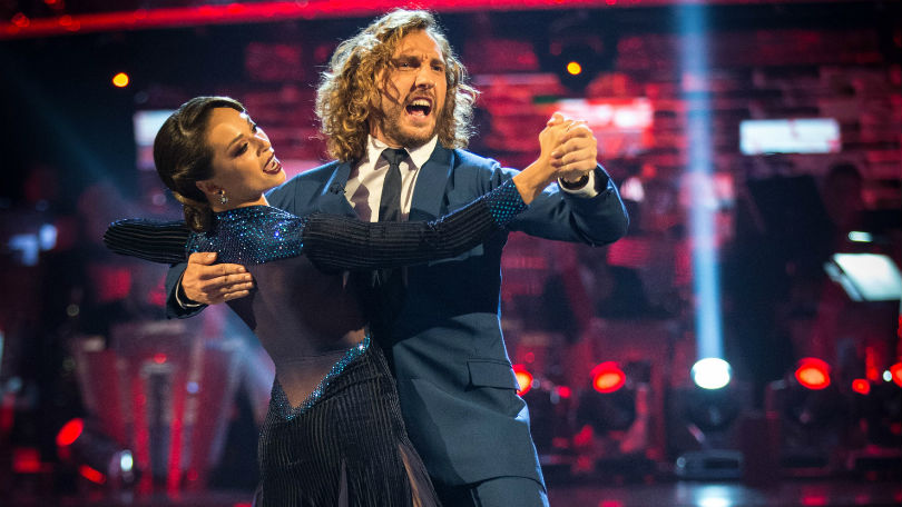 Katya Jones with Seann Walsh