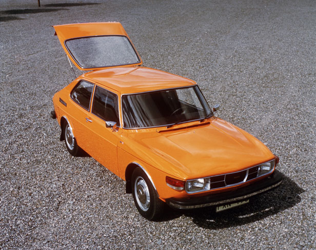 Everyday classic saab 99 the smooth swede that developed a saab 99 hatchback in orange publicscrutiny Choice Image